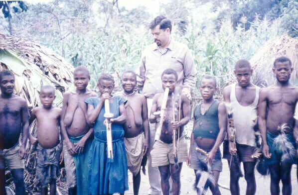 Among the Pygmies